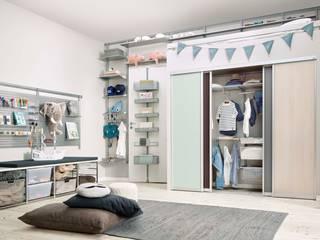 Ordnung schaffen im Kinderzimmer.:  Kinderzimmer von Elfa Deutschland GmbH