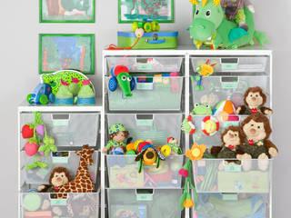 Jedes Spielzeug bekommt seinen eigenen Korb:  Kinderzimmer von Elfa Deutschland GmbH