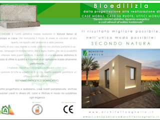 """ECOHOUSE"" casa mobile :  in stile  di Studio tecnico Agnello"