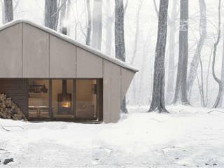 Sistema Sieteymedio: Casas de estilo asiático de Arrokabe arquitectos