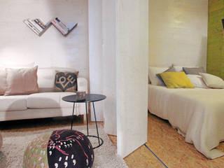TreeHouse Spot Phòng ngủ phong cách tối giản bởi Plano Humano Arquitectos Tối giản