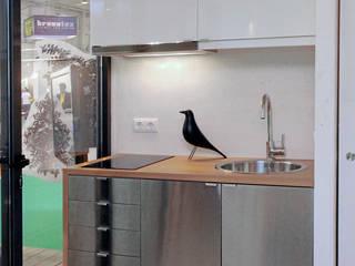 TreeHouse Spot Nhà bếp phong cách tối giản bởi Plano Humano Arquitectos Tối giản