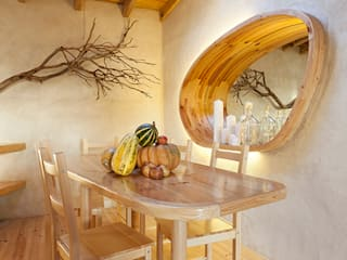 pedro quintela studio Country style dining room Wood effect