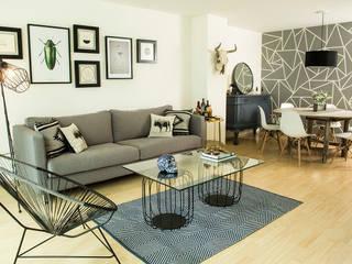 SALA : Salas de estilo  por Ploka 8.7