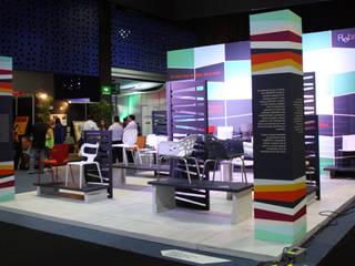 Expo Habitat Centros de exposiciones de estilo moderno de Boué Arquitectos Moderno