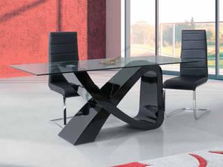 relax mobiliário e decoração Dining roomTables Glass