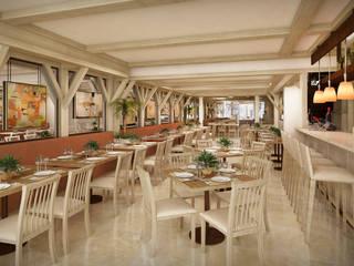 Guzina Oaxaca Gastronomía de estilo moderno de Boué Arquitectos Moderno