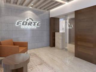 Oficinas Forte Universal Edificios de oficinas de estilo moderno de Boué Arquitectos Moderno