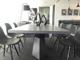 Dining room by Barra de Arquitectura Mexicana