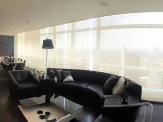 Living room by Barra de Arquitectura Mexicana
