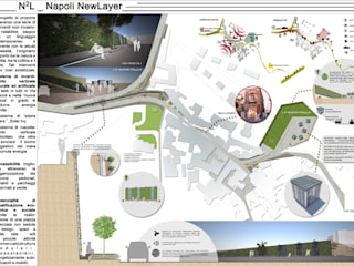N2L _ ​Napoli New Layer Case in stile minimalista di Luigi Sciorio & Partners Minimalista