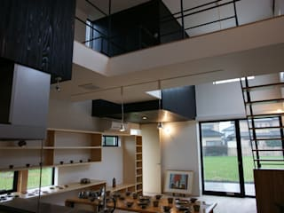 Modern Dining Room by waff.me Modern