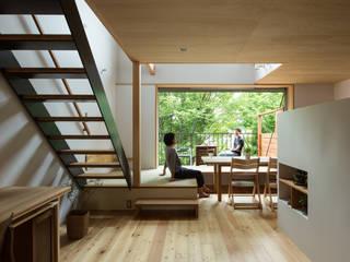 藤森大作建築設計事務所 Modern Oturma Odası