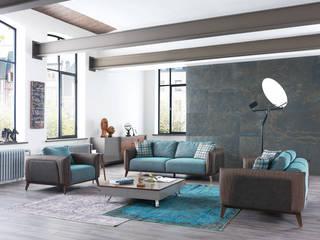 moderne Wohnzimmer von NILL'S FURNITURE DESIGN