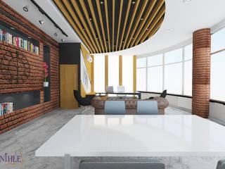 Modern office buildings by nihle iç mimarlık Modern