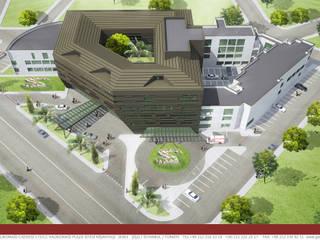 Geyran Mimarlık Atölyesi LTD. ŞTİ. – Özel Ada Tıp Hastanesi:  tarz