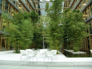 de MK2 international landscape architects Moderno