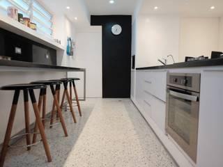 3 Cocinas de estilo minimalista de RRA Arquitectura Minimalista