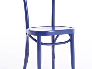 Brera blue Italian Chair:   by Livingfurnish Ltd
