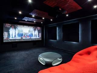 Showroom Venturi Home Solutions, Łódź: styl , w kategorii Pokój multimedialny zaprojektowany przez Venturi Home Solutions