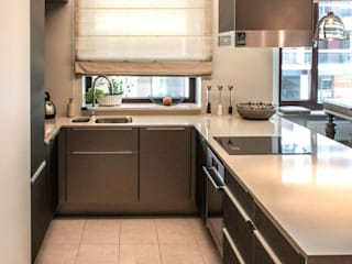 AS-MEB Modern Kitchen Glass Beige