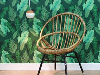 Palm 1957 :  de style tropical par LE PRESSE PAPIER / PAPIER PEINT, Tropical