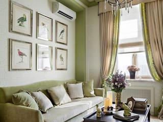 Eclectic style living room by VVDesign Eclectic