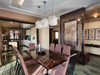 А3 ARCHITECTURAL BUREAU Eclectic style dining room