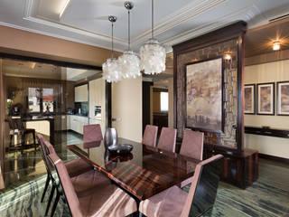 Частные апартаменты 2.: Столовые комнаты в . Автор – А3 ARCHITECTURAL BUREAU