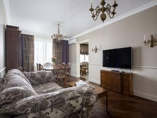 Проект квартиры в Викторианском стиле от NABOKOFF английские интерьеры Классический