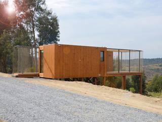 Nhà phong cách Bắc Âu bởi Plano Humano Arquitectos Bắc Âu