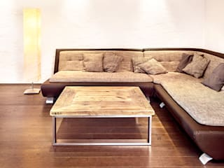 Coffee table stainless steel edictum - UNIKAT MOBILIAR 客廳
