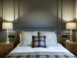 Double Bedroom - Down Hall Country House Hotel:  Hotels by Rachel McLane Ltd