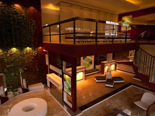 Sai Jewellers Modern study/office by Initios Designs Modern