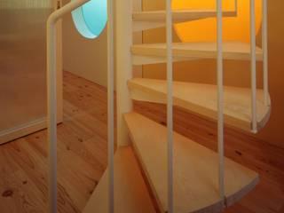 大林邸: MAY COMPANY & ARCHITECTSが手掛けた廊下 & 玄関です。