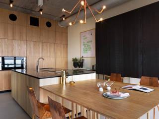 NPL. Penthouse Industrial style kitchen by Olga Akulova DESIGN Industrial