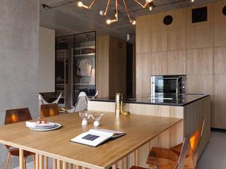 industriale Küche von Olga Akulova DESIGN