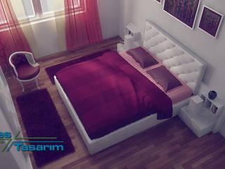 Kamar Tidur Gaya Eklektik Oleh Adres Tasarım Eklektik
