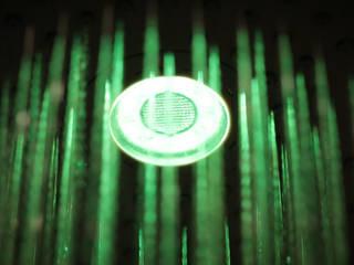 Chuveiros com cromoterapia e tecnologia Bluetooth por Sanindusa Moderno