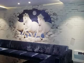 Walls Eye Candy Visuals Pvt. Ltd. Murs & SolsPapier peint