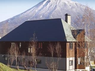 North Field Chalet Casas modernas de Taiga Projects Moderno