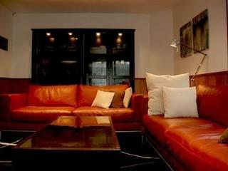 North Field Chalet Salas de estilo moderno de Taiga Projects Moderno
