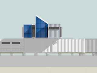 Container home Modern houses by Ecosa Institute Modern