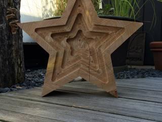 Stern mit gefrästen Innensternen von Tischlerei Helmut Sturm Klassisch