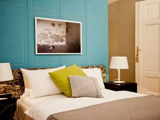 Apartment Wien Naschmarkt:  Schlafzimmer von Christian Hantschel Interior Design