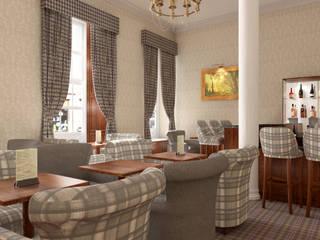 Howard Hotel – London Hotel in stile classico di KRISZTINA HAROSI - ARCHITECTURAL RENDERING Classico