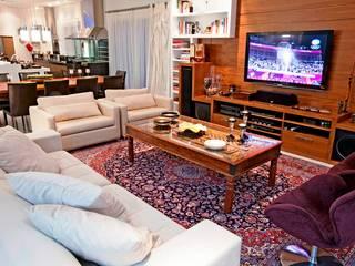 Loft Gourmet Salas multimídia modernas por Ariane Labre Arquitetura Moderno
