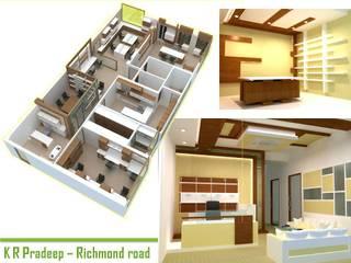 commercial Modern study/office by BAVA RACHANE Modern
