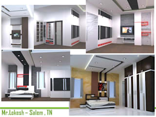 Residential interiors:  Bedroom by BAVA RACHANE