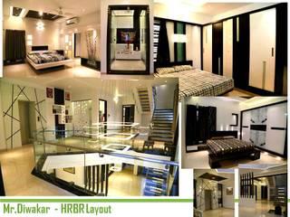 Residential interiors Modern style bedroom by BAVA RACHANE Modern